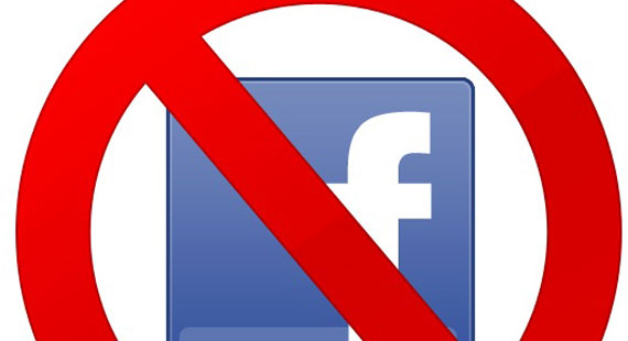 Facebook Free zone!